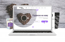 Coffee Lover landing page