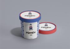Упаковка для продукции корейской кухни (лапша)