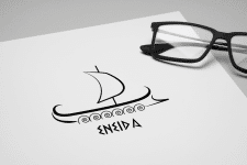 Логотип для турфирмы Энеида