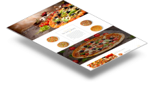 Лендинг для пиццерии