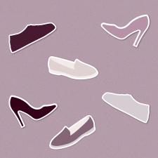 Стікери взуття
