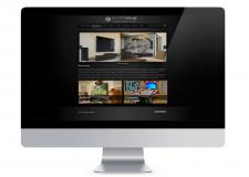 Дизайн сайта (домашние кинотеатры)