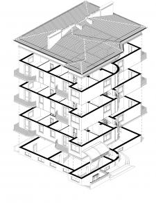 Ескізний проект багатоквартирний житловий будинок