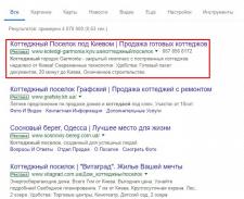 Коттеджный поселок под Киевом - настройка и ведени