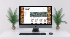 "Online Shop ""Sticker Shop"""