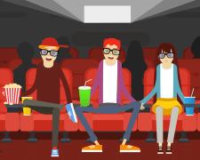 Реклама кинотеатра Millennium