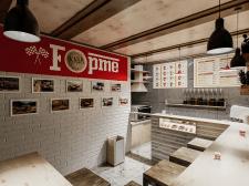 Проект интерьера кофейни