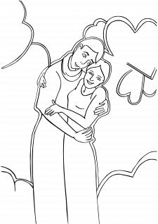 """Графічний малюнок """"Пара"""""""