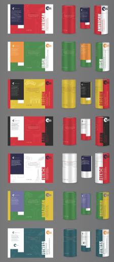 Дизайн упаковки для лінійки гарячих шоколадів