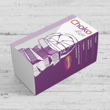 Эскизы упаковки продукции - шоколад для похудения