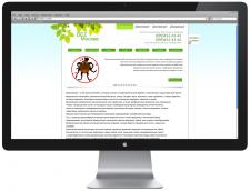 Вариант дизайна сайта для компании