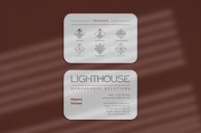 Дизайн визитки для Lighthouse