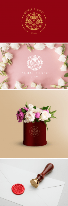 Логотип для цветочного салона
