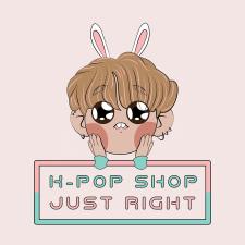 Логотип (+персонаж) для k-pop магазина