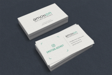 Логотип и визитка для креативного агентства