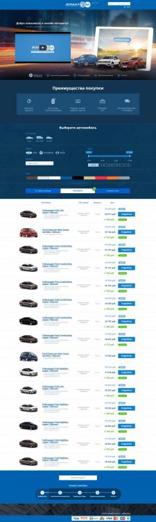 Верстка адаптивности для сайта портала по продажам