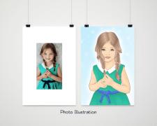 Иллюстрация по фотографии
