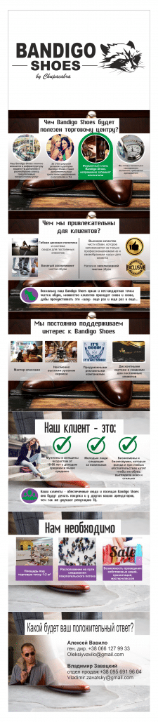 Презентация для Bandigo shoes