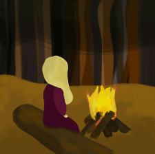 Растровое изображение девочки, продолжение серии