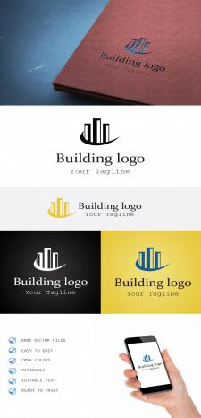 Строительная компания. Лого.