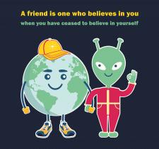 "Poster ""Friendship"""
