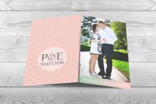Пригласительная открытка на свадьбу