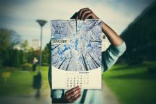 Календарь (пример месяца)
