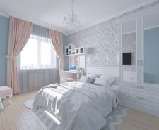 Нежная спальня для девочки 12 лет