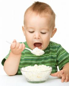 Кисломолочные продукты малышам