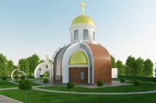 Ескізний проект церкви на 300 вірних