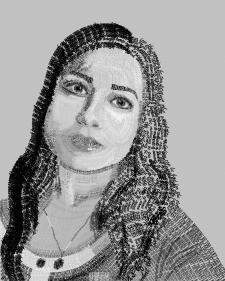 Портрет текстом
