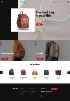 Backpack shop
