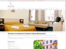 Создание и наполнение сайта для отеля COMFORT