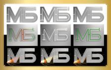 Двубуквенный именной логотип - 3