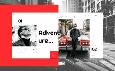 Дизайн веб-сайта для магазина мужской одежды