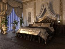 Спальня классическая 3