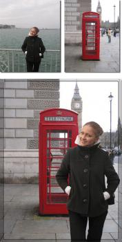 Замена фона. Лондон