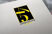 "Логотип для арт-студии ""45"""