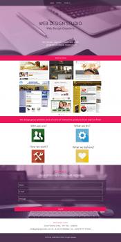 Лендинг студии Веб-дизайна