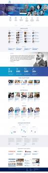 Isstar, дизайн главной и внутренних страниц
