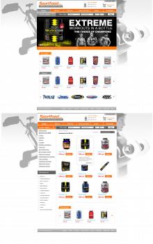 Интернет-магазин - Sportfood