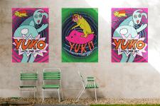 Серія плакатів для електро-фолк дуету YUKO