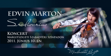 плакат Concert Edvin Marton