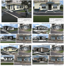 3d візуалізація дизайн-проекта. Шаховий клуб