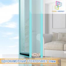 Однокамерный стеклопакет, 24мм
