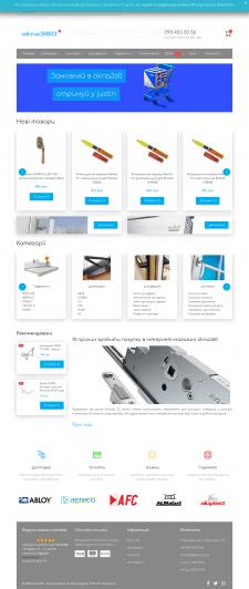 Создание интернет магазина фурнитуры на Joomla