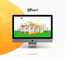 UltraVit   E-commerce shop design