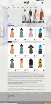 Интернет магазин одежды на опенкарте