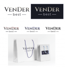 Логотип и дизайн пакета для магазина VenDer.best