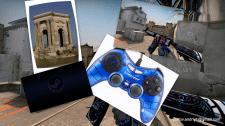 Фотоколлаж на тему компьютерных игр